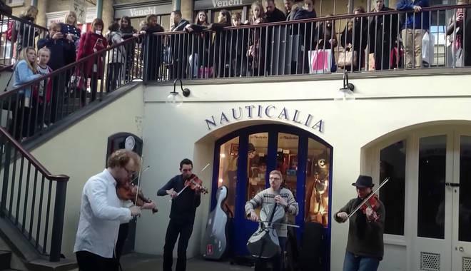 Vivaldi busking