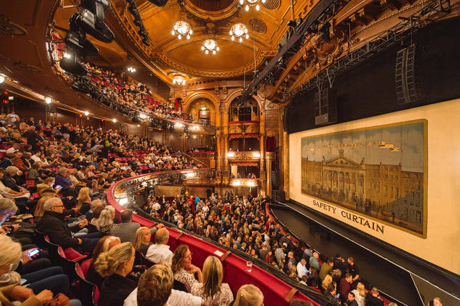 Lloyd Webber to run hygiene tests in the London Palladium