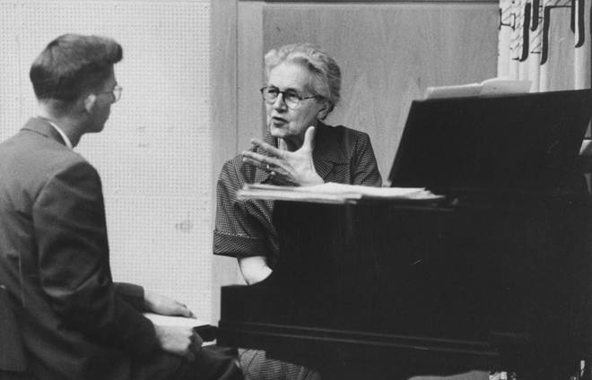 Composer, conductor and teacher Nadia Boulanger