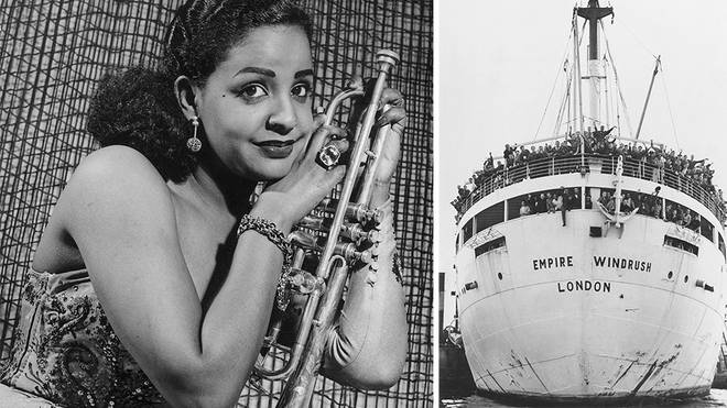 Mona Baptiste, Trinidadian blues singer, came over on the Empire Windrush