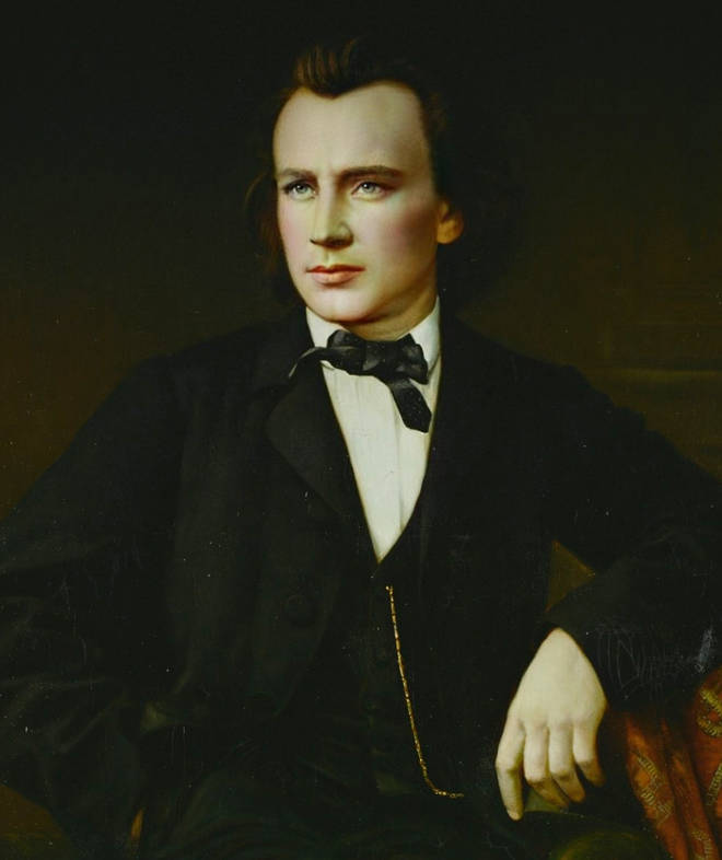Brahms with makeup