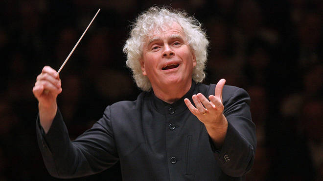 Simon Rattle urges government to reduce 3-metre brass rule