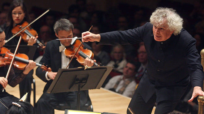 One metre is sufficient for orchestral distancing, says Rattle