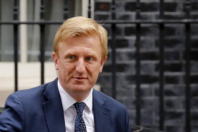 Britain's culture secretary, Oliver Dowden