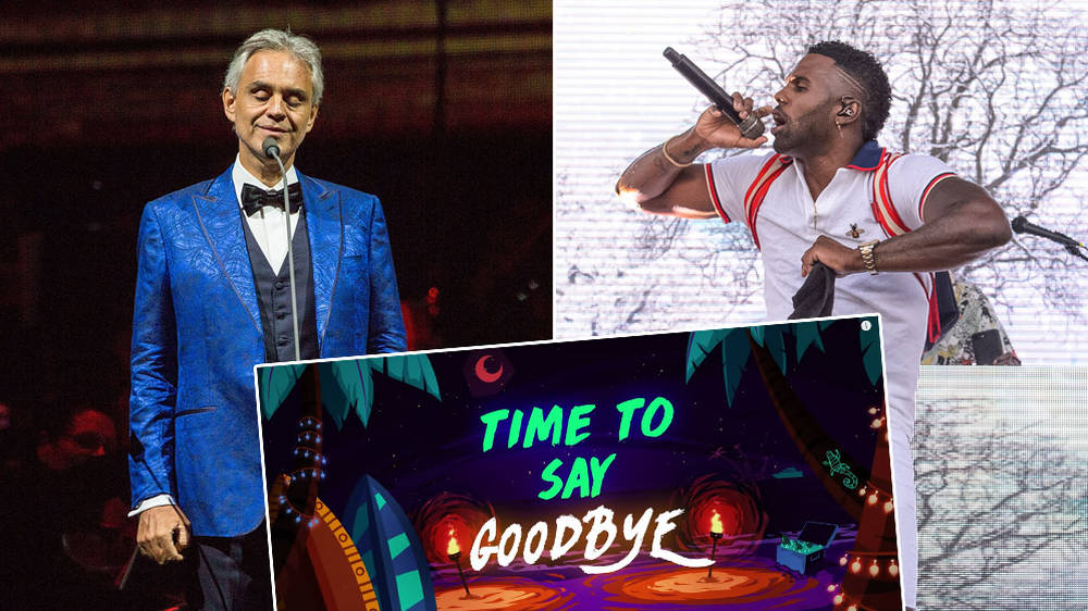 Watch: Andrea Bocelli's 'Time to Say Goodbye' is sampled in Jason