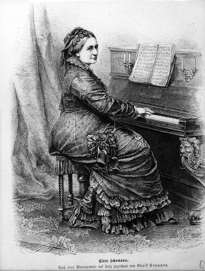 Clara Schumann piano