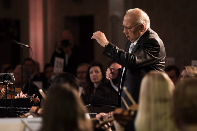 Neeme Järvi conducts the Estonian National Symphony Orchestra