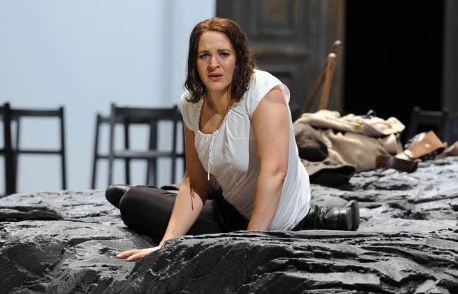 Lise Davidsen in the Royal Opera's Fidelio