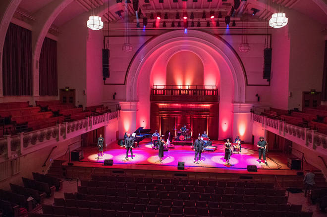 Cadogan Hall opens for broadcast and live-streams