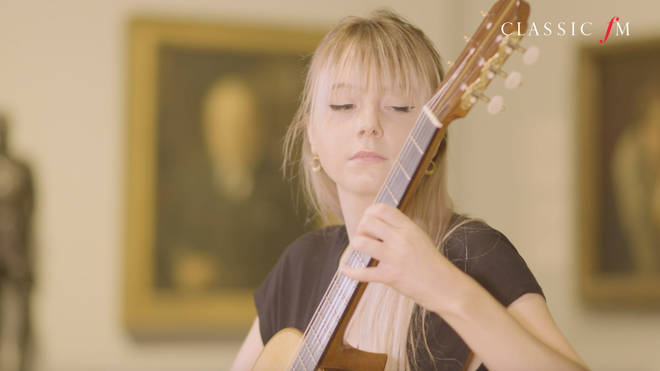 Guitarist Alexandra Whittingham performed a 'Forgotten' by 19th century composer, Catharina Pratten