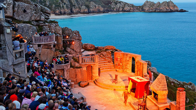 Cornwall's Minack theatre cited as venue that can reopen