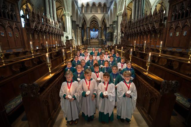 Salisbury Cathedral Choir choristers