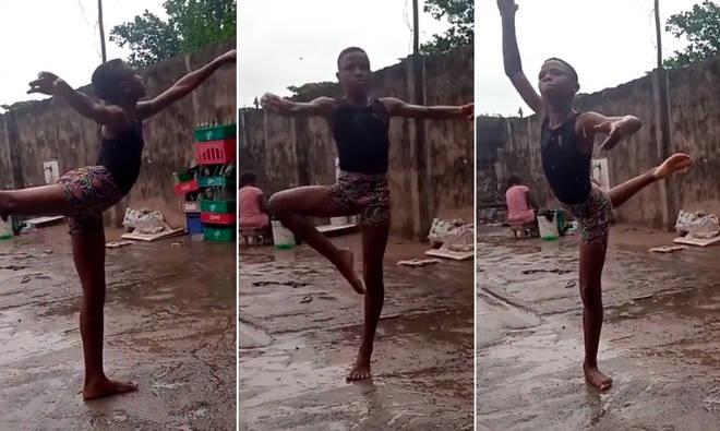 Anthony Mmesoma Madu's graceful pirouettes