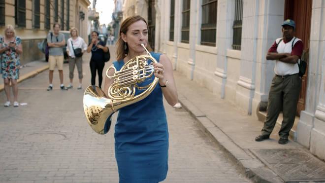 Mozart flashmob in Havana