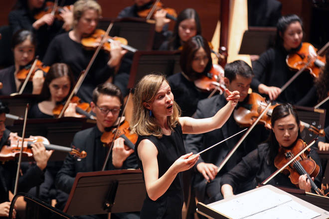 Mirga Gražinytė-Tyla, music director of the CBSO, Classic FM's Orchestra in the Midlands