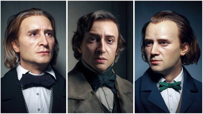 Liszt, Chopin and Brahms