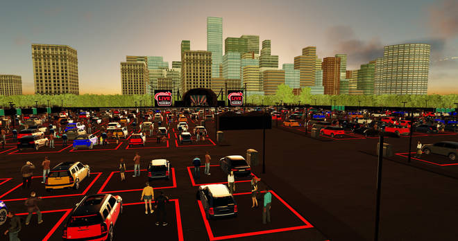 The drive-in event had envisioned a new kind of music experience