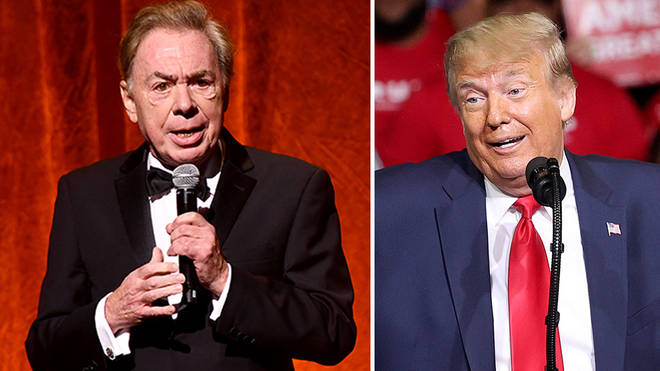 Andrew Lloyd Webber and Donald Trump