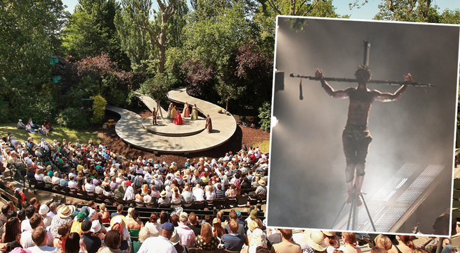 Jesus Christ Superstar is returning to Regent's Park Open Air Theatre for 70 live performances