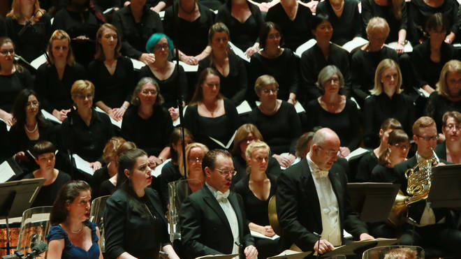 The London Symphony Chorus is an amateur choir