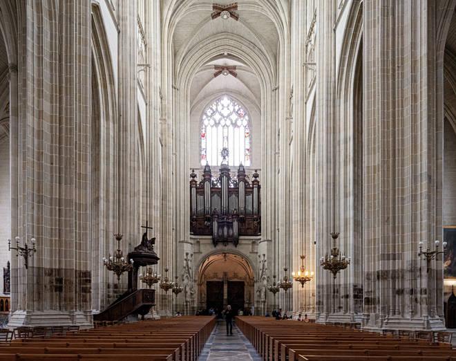 Nantes Cathedral organ