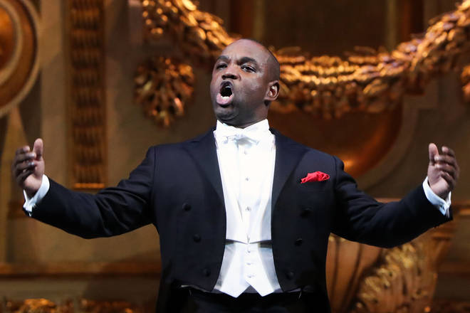 Tenor Lawrence Brownlee is the only black recipient of the Richard Tucker Award