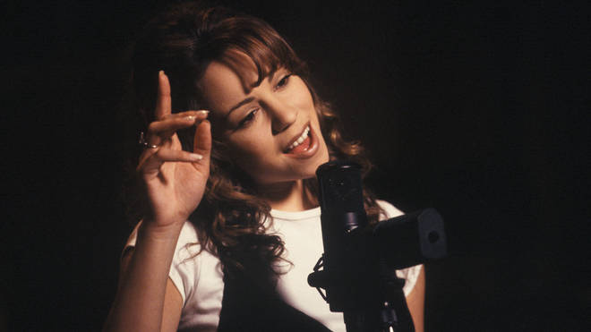 Mariah Carey singing 'Without You'