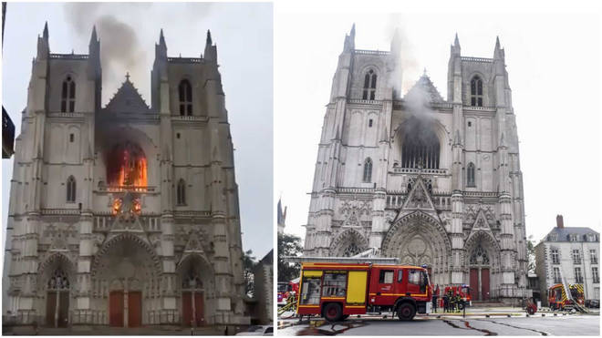 Church volunteer confesses to setting fire to Nantes Cathedral organs