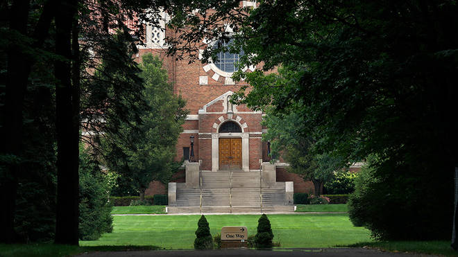 The convent is situated just outside of Detroit