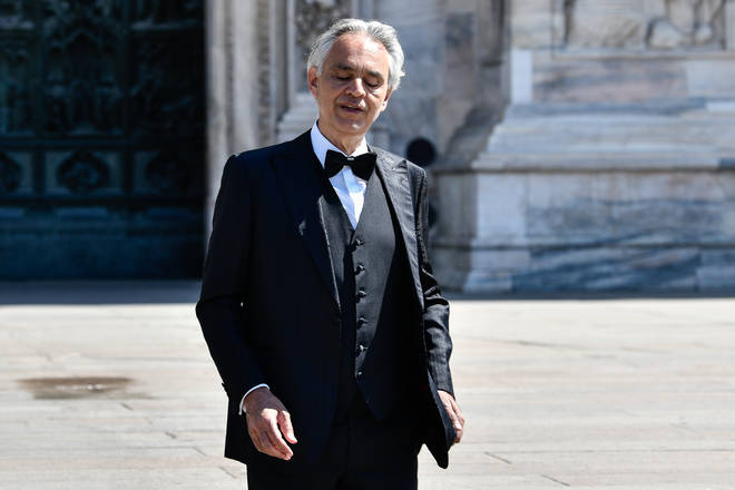 Bocelli says he violated the ban on going out during Italy's lockdown.