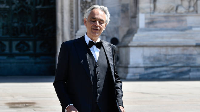 Andrea Bocelli criticised for saying Italy's lockdown was overblown