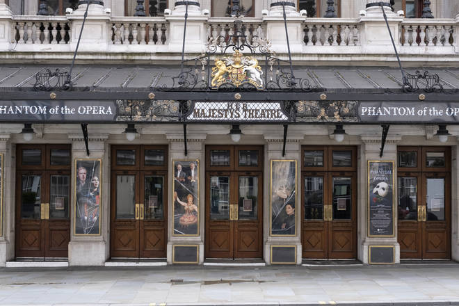The Phantom of the Opera will no longer run at Her Majesty's Theatre, London