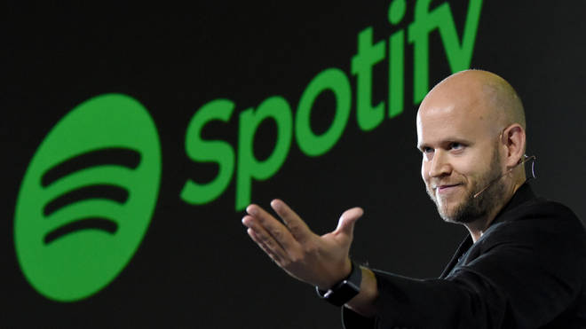 Daniel Ek, CEO of Swedish music streaming service, Spotify