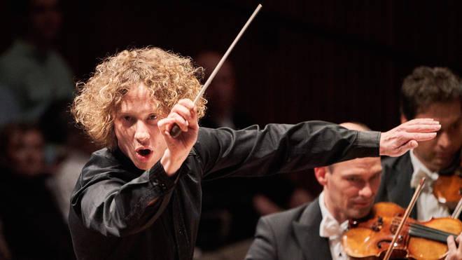 Conductor Santtu-Matias Rouvali