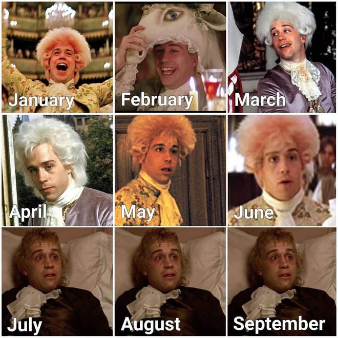 Amadeus calendar