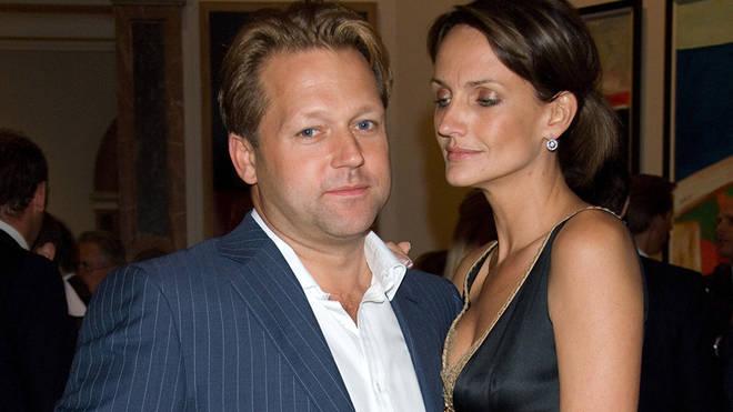 David Ross and former girlfriend, Saffron Aldridge