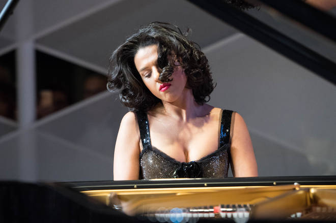 Female pianists, such as Khatia Buniatishvili, are increasingly popular