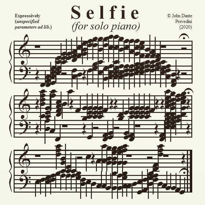 Selfie, by John Dante Prevedini