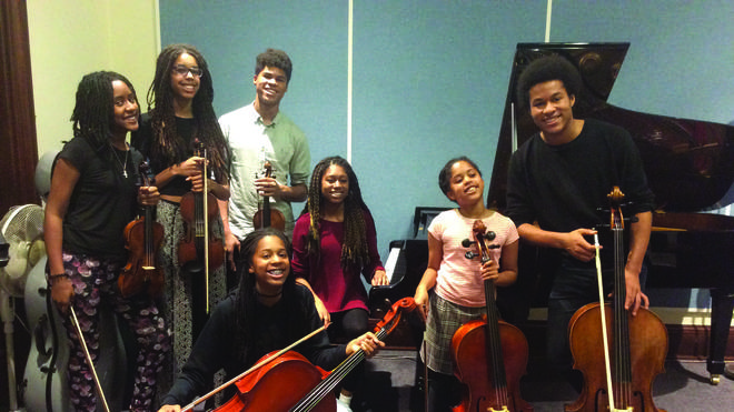 The Kanneh-Mason family