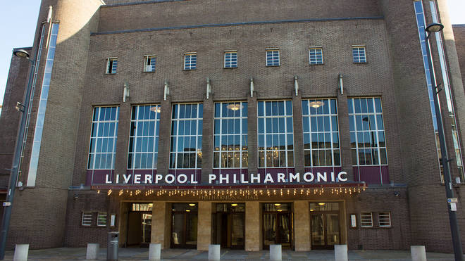 Drunk man steals 'L' from Liverpool Philharmonic hall sign