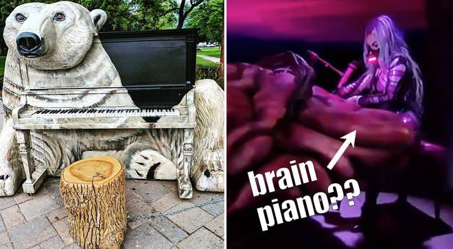 From bear pianos to Gaga's VMA brainchild...