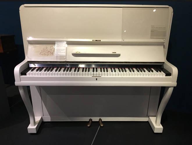 Elton John's piano