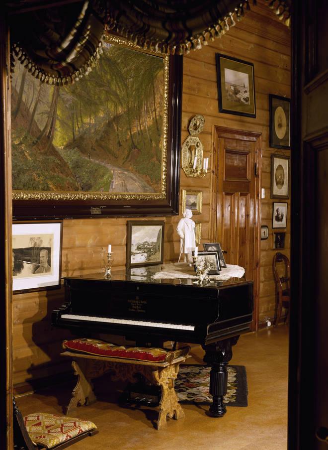 Edvard Grieg's piano