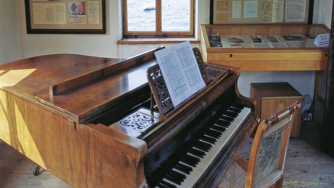 Mahler's piano