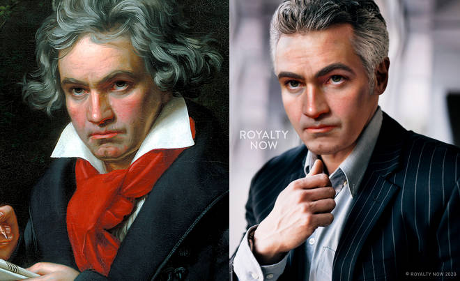 A digital artist has made a modernised Beethoven