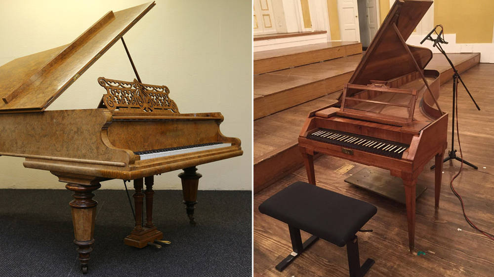10 incredible photos of composers' original pianos - Classic FM