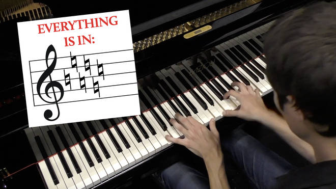 C major piano