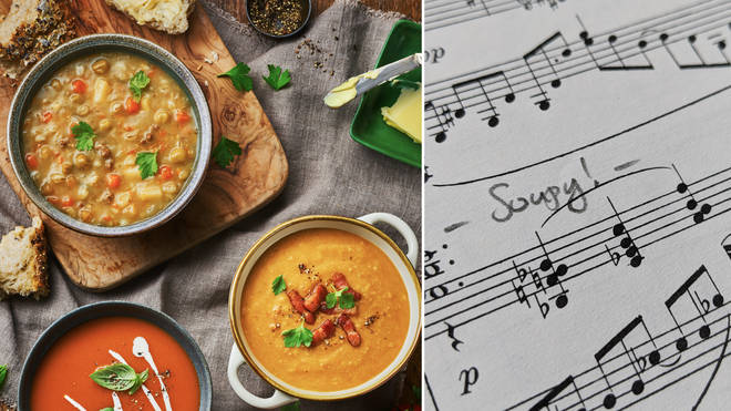 Soup and music