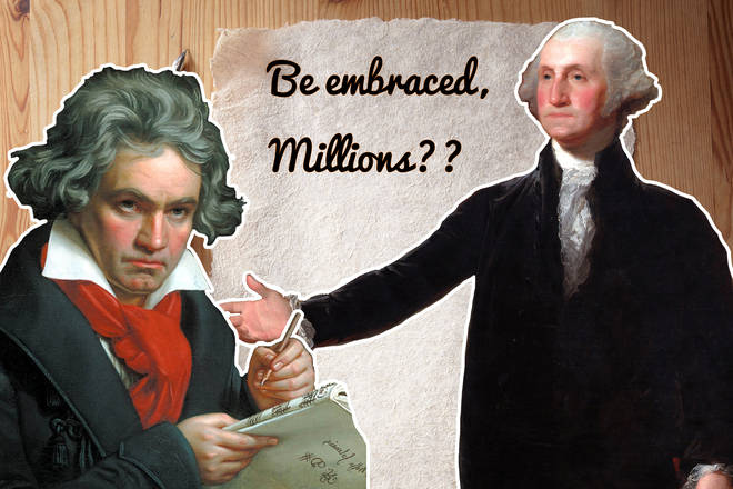 Beethoven and George Washington