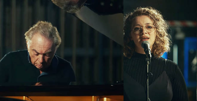 Andrew Lloyd Webber and Carrie Hope Fletcher perform 'Far Too Late'